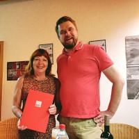 Stefanie Jahn und Sandro Kotte